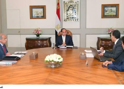 السيسي يوجه وزير النقل بتطوير منظومة السكك الحديدية