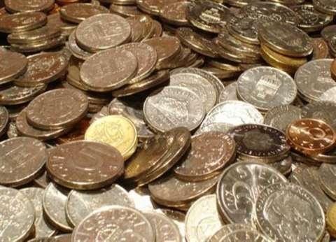 جمع طنين من العملات المعدنية في حملة خيرية برومانيا