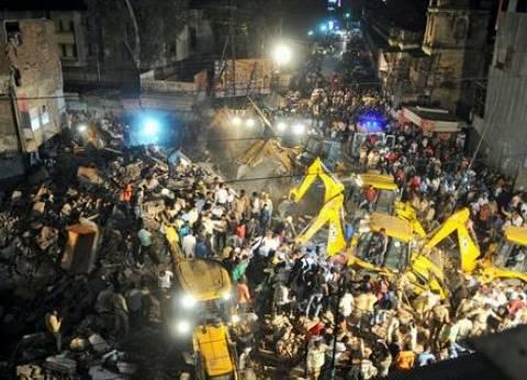 مصرع 10 أشخاص وإصابة اثنين في انهيار مبنى بوسط الهند