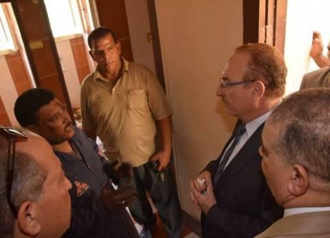 محافظ بني سويف يطالب بتقييم العمل بالحملات الميكانيكية في المحليات