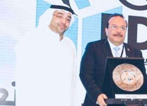 تكريم رئيس جامعة طنطا في ملتقى الكويت للتعليم