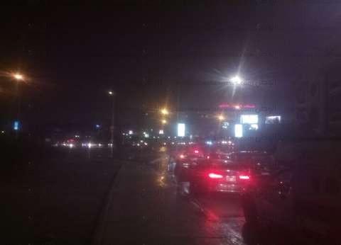 برق ورعد وأمطار غزيرة على القاهرة الكبرى