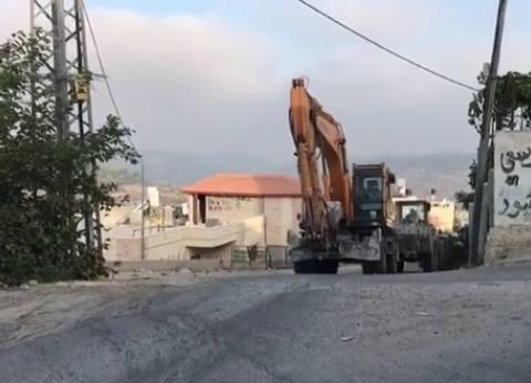جيش الاحتلال يؤكد تدمير أنفاق على الحدود مع قطاع غزة