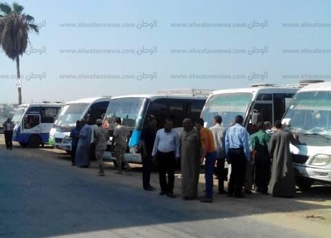 الجيش يتسلم مقار اللجان الانتخابية ببني سويف