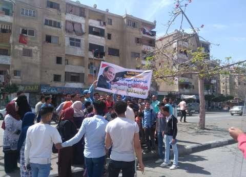 """مسيرة طلابية وشعبية بالسلام والنهضة: """"انزل شارك عشان بلدك"""""""