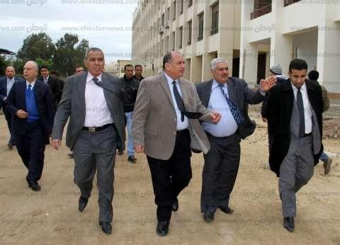 بالصور| رئيس جامعة طنطا يشدد على معايير الجودة في تنفيذ المنشآت الجديدة