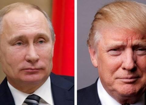 """ترامب لـ""""بوتين"""": حان الوقت للسلام بين فلسطين وإسرائيل"""
