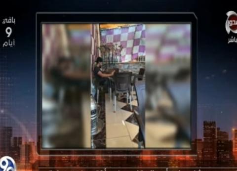 بالفيديو| على المقهى.. شاب يملي على زميله إجابات امتحان اللغة الإنجليزية