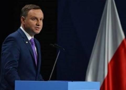 الرئيس البولندي يعزي مصر في ضحايا تفجير كنيستي طنطا والإسكندرية