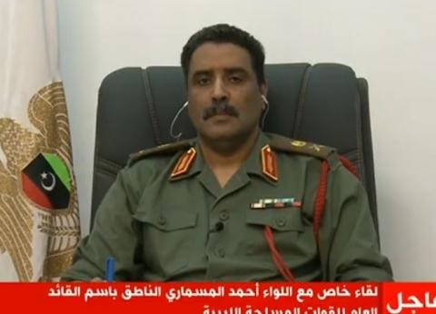 المسماري: تركيا تستخدم طائرات مسيرة في ليبيا وتزود الميليشيات بأسلحة