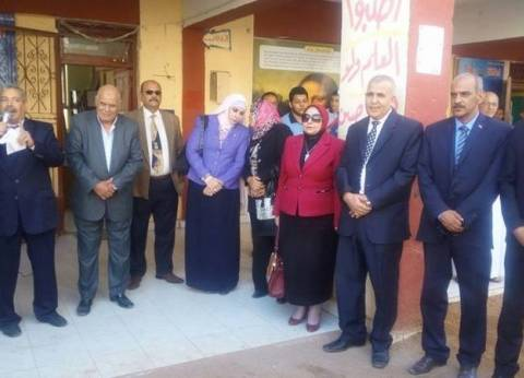 مديرية التعليم بالجيزة ترعى معسكر «في حب مصر» بمدرسة البكاري الثانوية