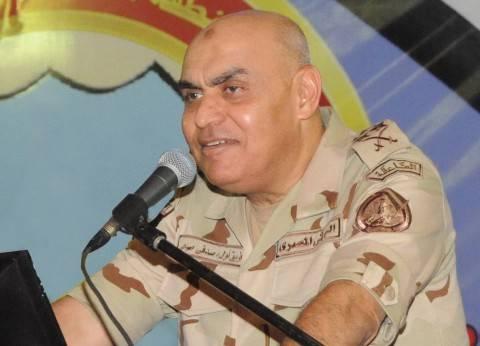"""وزير الدفاع يلتقي وفد معهد الشرق الأوسط للدراسات الاستراتيجية بـ""""أمريكا"""""""