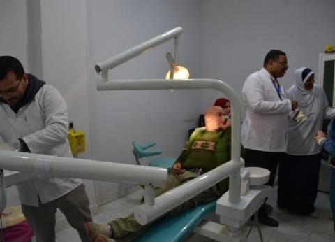 قافلة طبية مجانية لمرضى حي الجناين بالسويس تواصل عملها لليوم الثاني