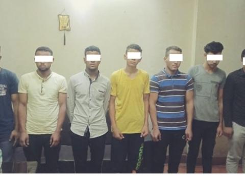 ضبط مرتكبي واقعة مقتل مواطن أثناء استقلاله القطار في بني مزار
