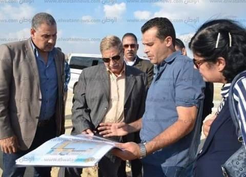 بالصور| محافظ الإسماعيلية يتفقد أعمال مشروع المحور المروري الجديد
