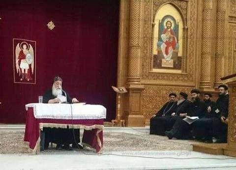 بحضور الأنبا هدراء.. الكنيسة تنظم لقاء عام لخدام التربية الكنسية بأسوان
