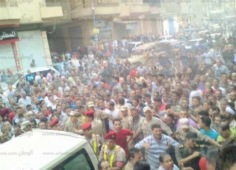 """قرية """"كفر الخضرة"""" تستعد لاستقبال جثمان الشهيد أحمد عبد الباسط"""