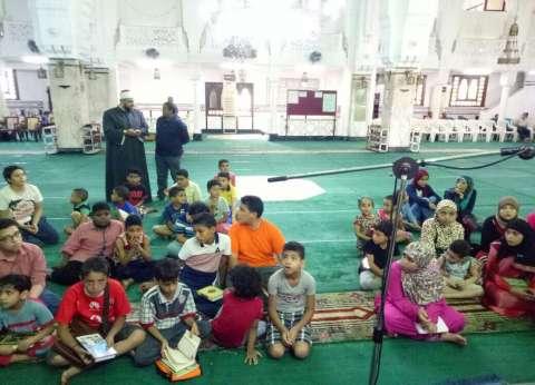 """""""أوقاف الإسكندرية"""": 2431 دارسا بـ""""المسجد الجامع"""" في الأسبوع الأول"""