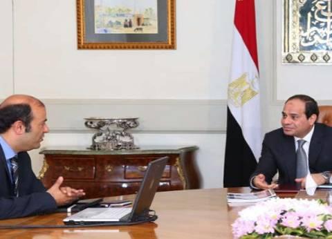 السيسي يجتمع مع وزير التموين لمتابعة تدابير خفض أسعار السلع