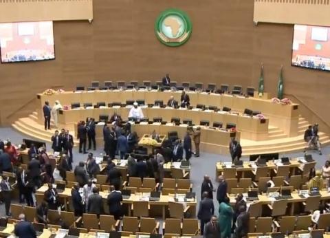 عاجل| بدء قمة الاتحاد الإفريقي بمشاركة السيسي وزعماء القارة السمراء