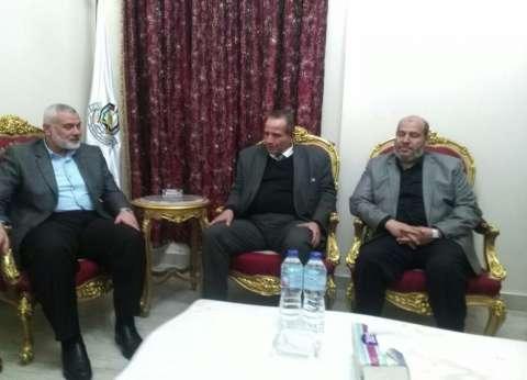 بالصور| تفاصيل لقاء وفد الحزب الناصري مع إسماعيل هنية