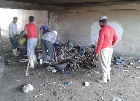 حى وسط الإسكندرية يسلم جراج حديقة الخالدين