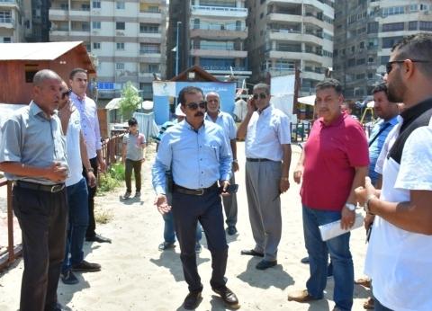 """""""سياحة الإسكندرية"""" تحرر 7 مخالفات على الشواطئ في ثاني أيام عيد الأضحى"""
