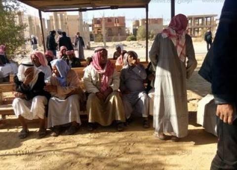 """إقبال كثيف على لجان """"الشيخ زويد"""".. والناخبون: """"الإرهاب فعل ماضي"""""""