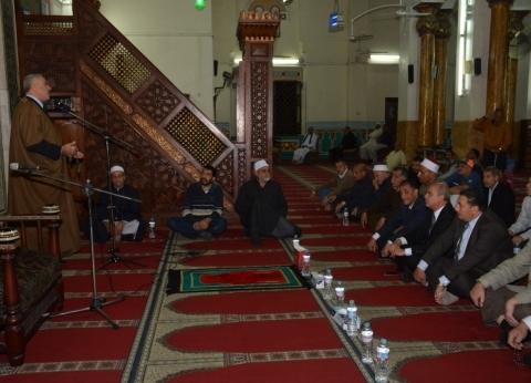 بالصور| دمياط تحتفل بالذكرى العطرة للمولد النبوي في مسجد البحر