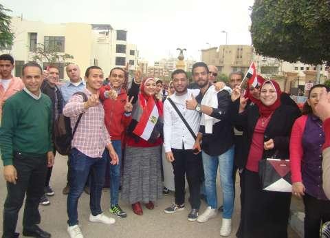 لجان التصويت في بورسعيد تشهد إقبالا كبيرا من الناخبين
