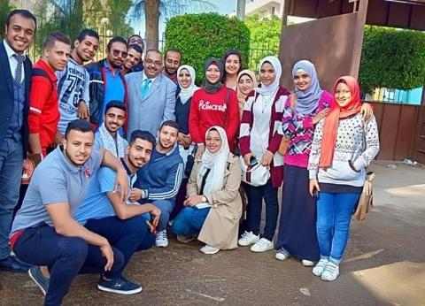 فوز 40 طالبا بينهم 7 طالبات في اتحادات جامعة المنيا