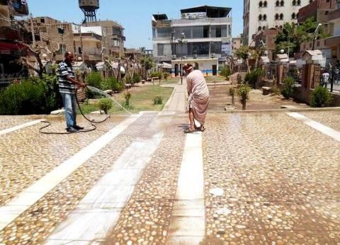 محافظ سوهاج: حملة مكبرة لتجميل مدينة طهطا