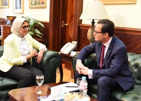وزيرة الصحة تشدد على سرعة الانتهاء من تنفيذ المشروع القومي للبلازما