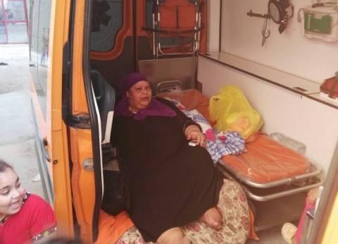 """وزيرة الصحة توجه بعلاج مريضة """"كفر الشيخ"""" على نفقة الدولة"""