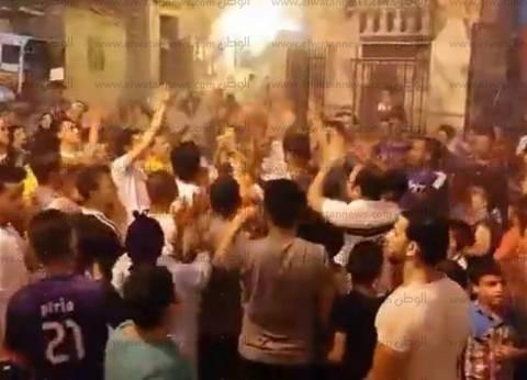 """مظاهرة في قرية """"الطفل الإيطالي"""" بالدقهلية للمطالبة بالقصاص"""