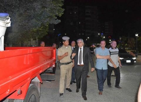 محافظ المنيا يُشرف على حملة لإزالة الإشغالات