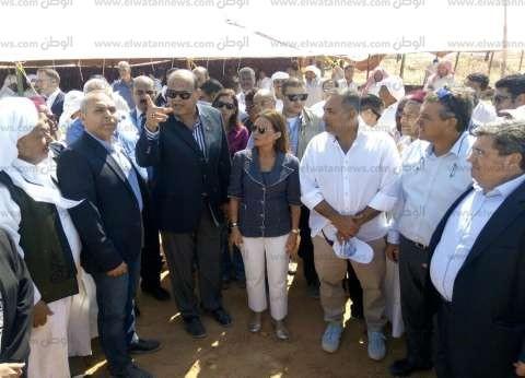 محافظ مطروح: بدء حصر الأراضي والرفع المساحي بمشروع تنمية غرب مصر
