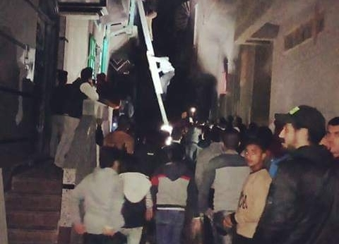 إصابة 6 أشخاص في حريق شقة بدمياط
