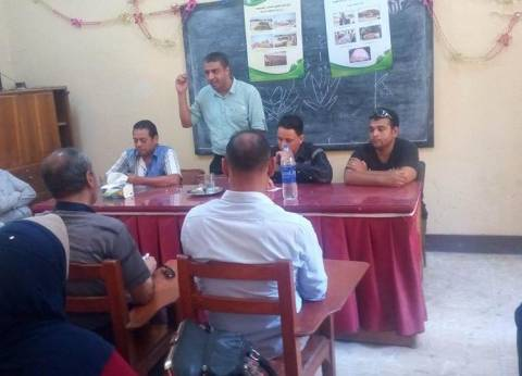 """بالصور: مركز إعلام المحلة ينظم ندوة بعنوان """"تدوير مخلفات قش الأرز """""""