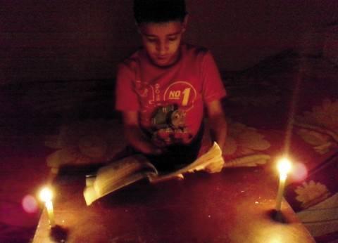 """انقطاع الكهرباء بعدة أحياء في الفيوم.. ومطالب بتقنين نظام """"الممارسات"""""""