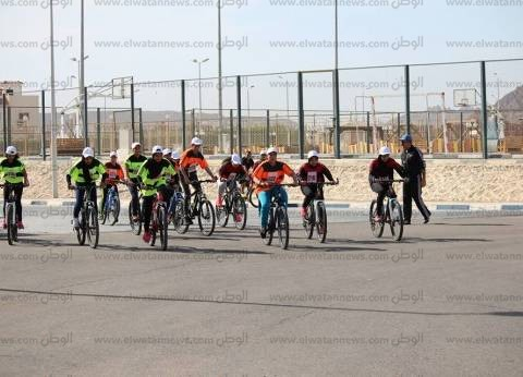 ختام فعاليات سباق الدراجات بدوري المنافسات للمدارس الرياضية