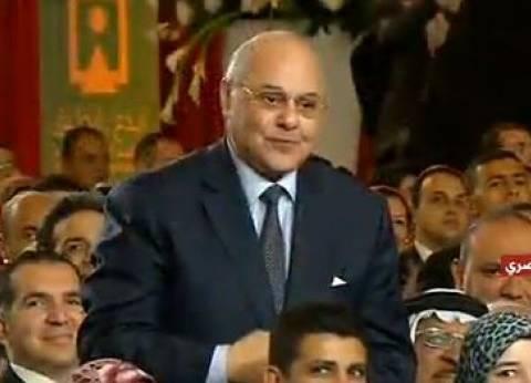 """السيسي لموسى مصطفى: """"أنا ومصر بنشكرك واتشرفت بيك"""""""