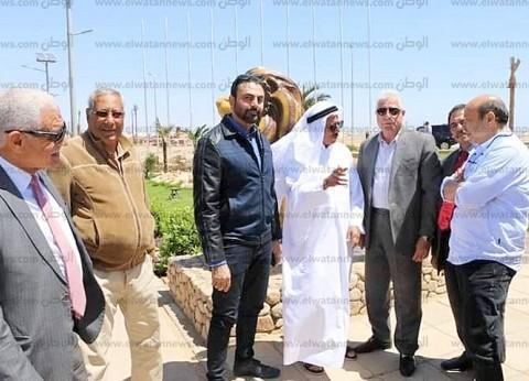 بالصور  محافظ جنوب سيناء يبحث تطوير خليج نعمة مع مستثمر إماراتي