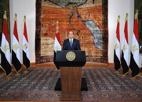 «السيسى»: «30 يونيو» غيرت وجه المنطقة وأنهت الإرهاب