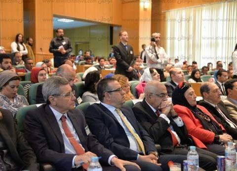 """افتتاح مؤتمر """"التنمية المستدامة مصر 2030"""" للمبادرات الطلابية بالمنصورة"""