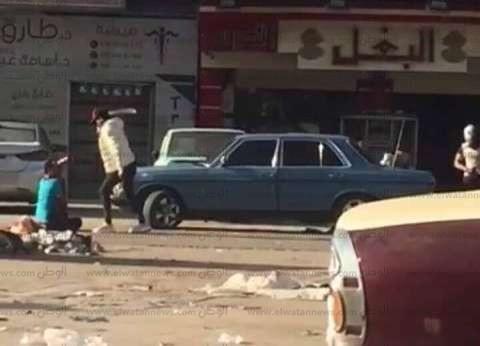 """""""أمن الدقهلية"""" يكثف البحث عن 4 أشخاص اعتدوا بالضرب على شاب في المنصورة"""