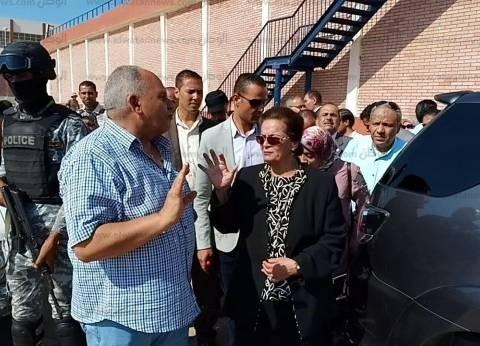 محافظ البحيرة تتفقد أعمال تجديد محطة مياه الشرب في شبراخيت