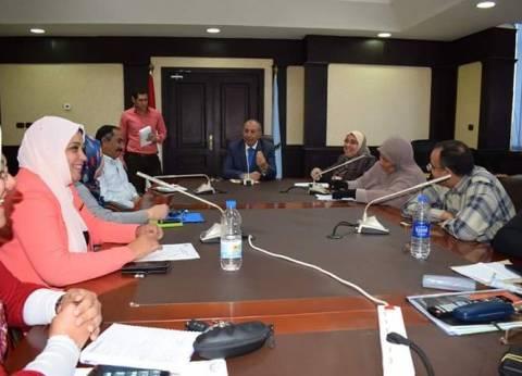 محافظ البحر الأحمر يعقد اجتماعا مع أعضاء المجلس القومي للسكان