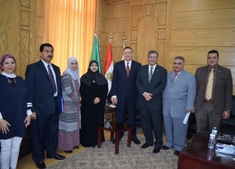 جامعة بنها: تيسير إجراءات استقبال الطلاب الوافدين من الدول العربية