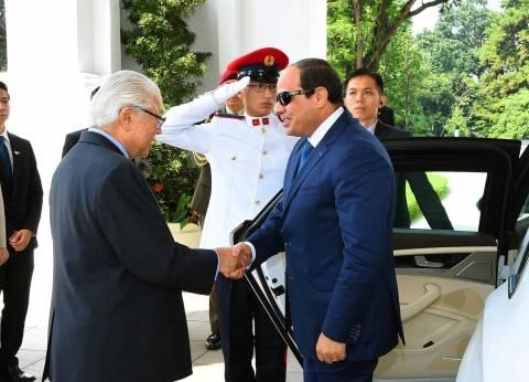 الرئيس السنغافوري يقبل دعوة السيسي لزيارة مصر